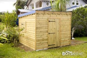 Abri de jardin - Bois détente Guadeloupe