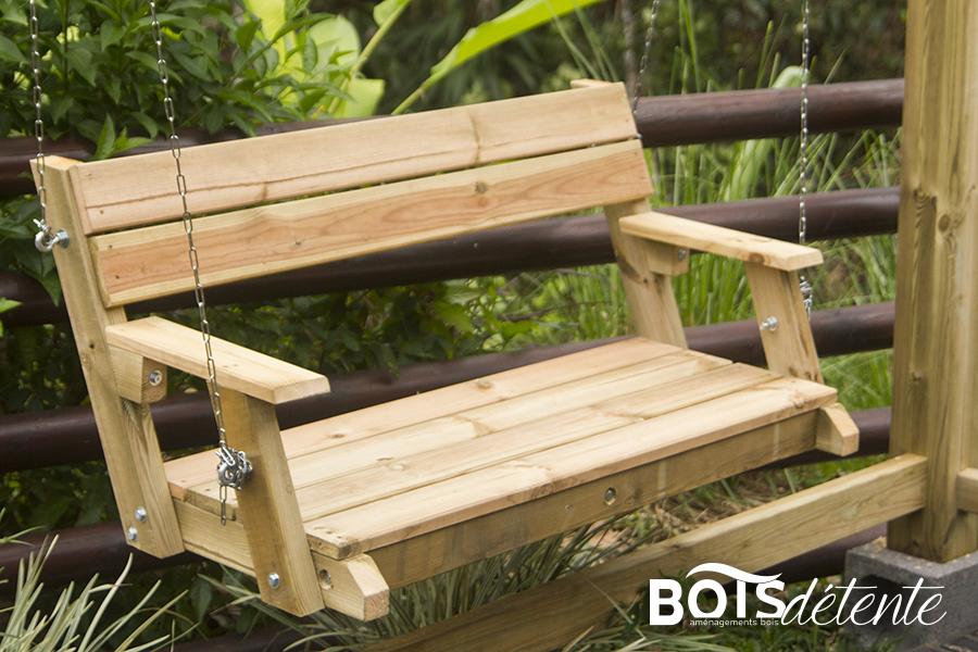Banc Suspendu Taille L Bois Détente Guadeloupe